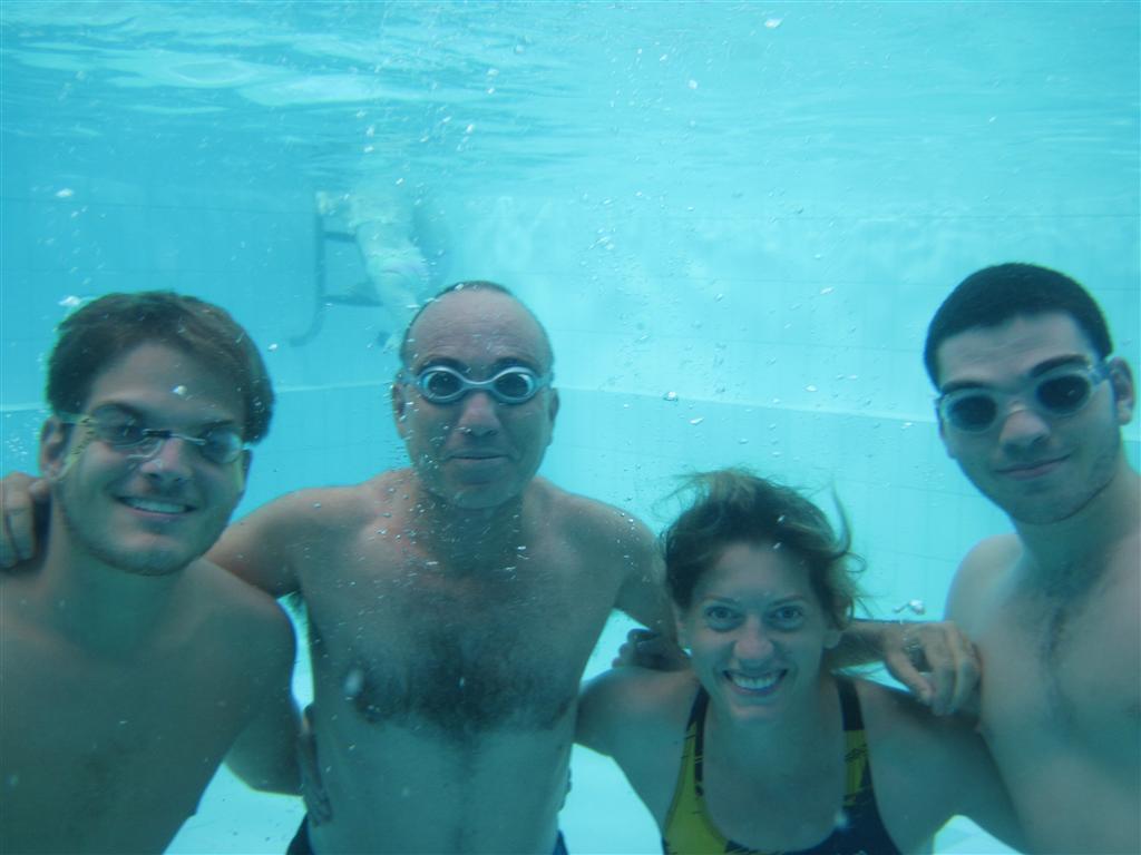 מדריכי מרכז ללימוד  שחייה נירים ספורט