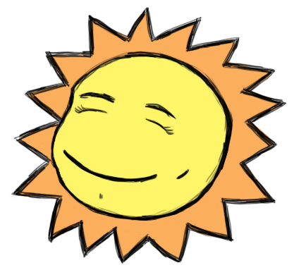 Happy Sun Image
