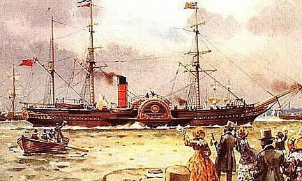 1840 RMS Brittania